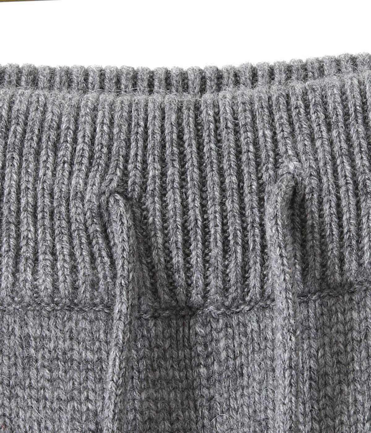 【予約】HEAVY WEIGHT CASHMERE KNIT PANTS