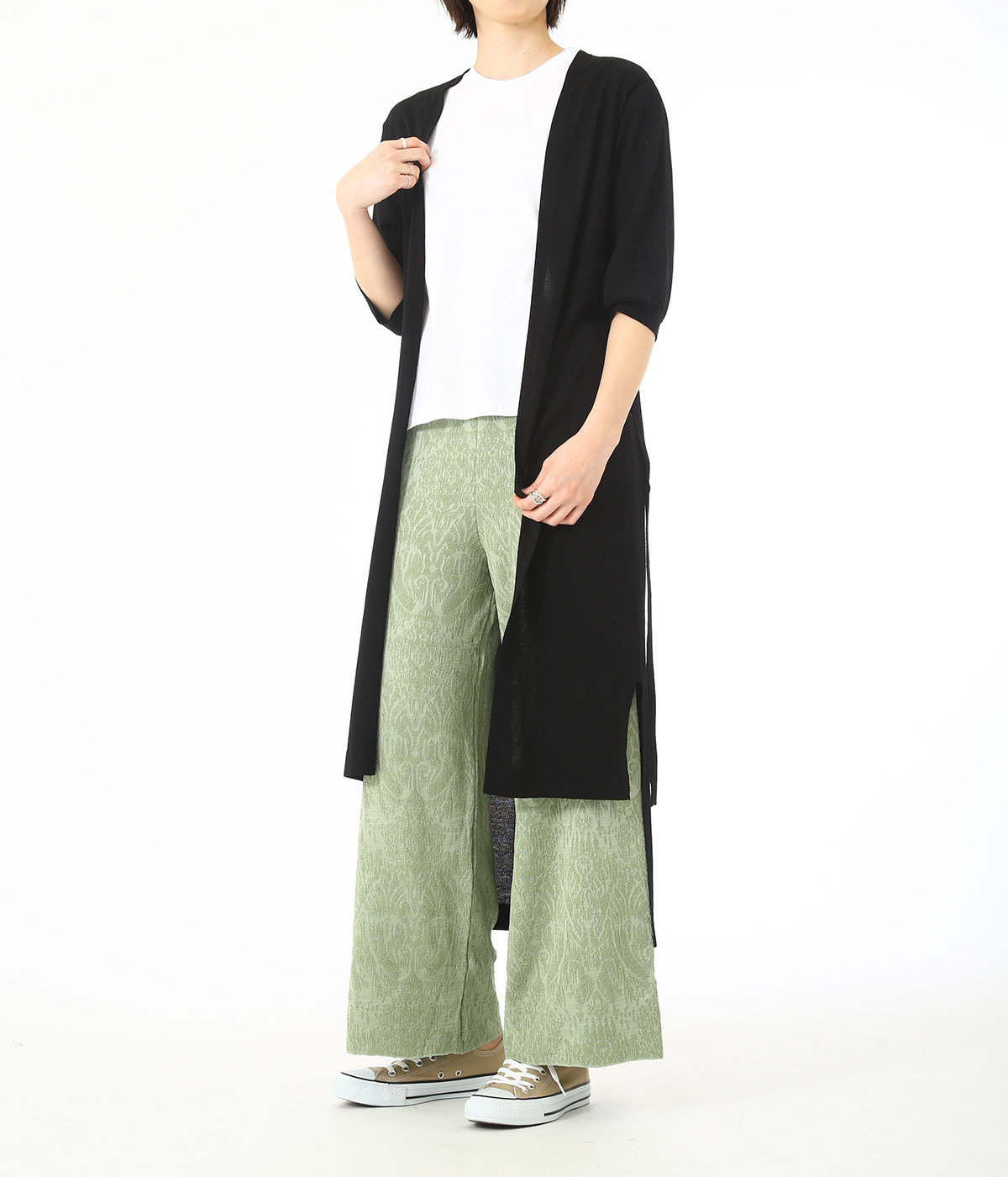 【レディース】LONG TOPPER CARDIGAN