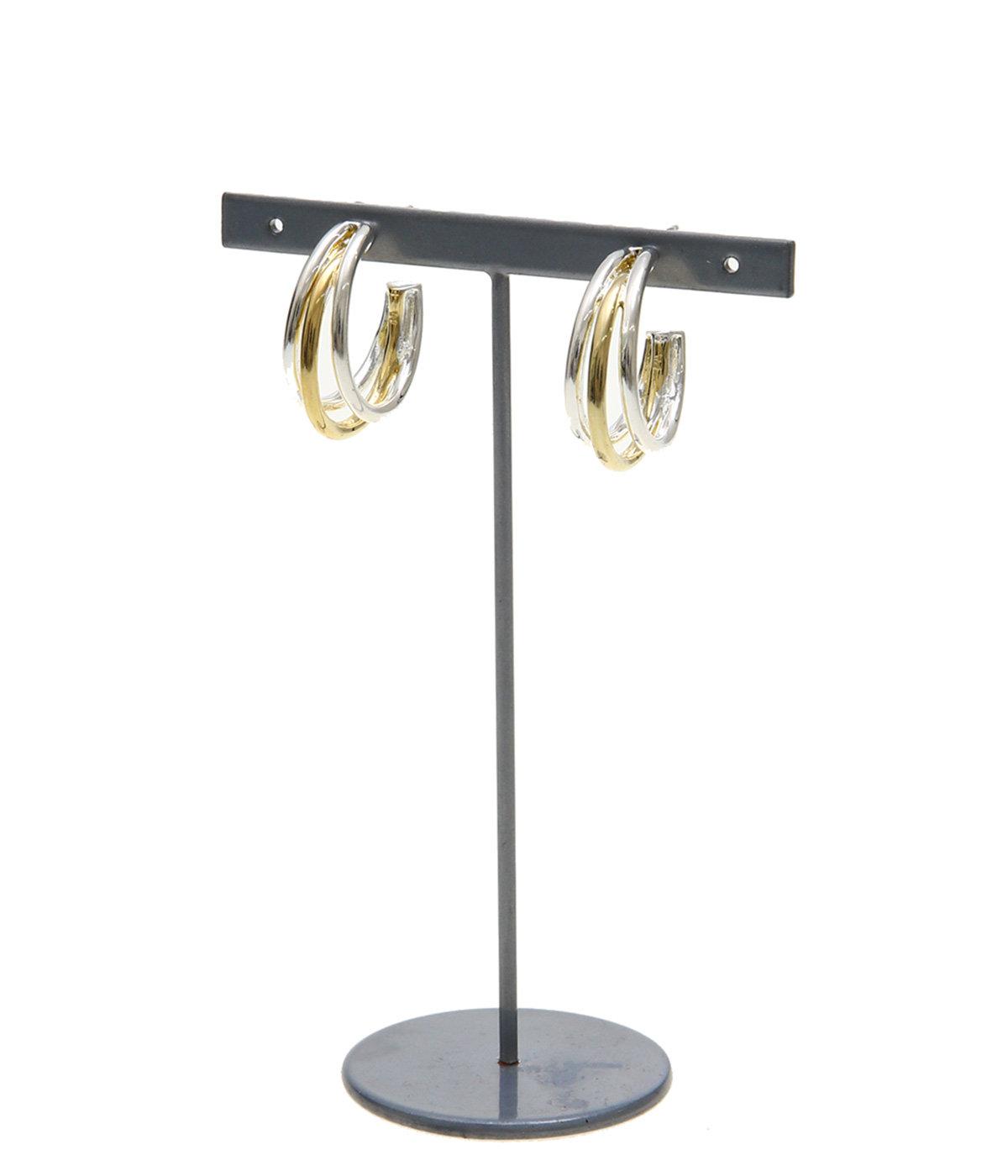 【レディース】Neal hoop S brass Bicolor