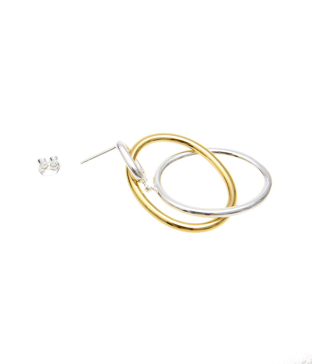 【レディース】Patxi earing brass Bicolor