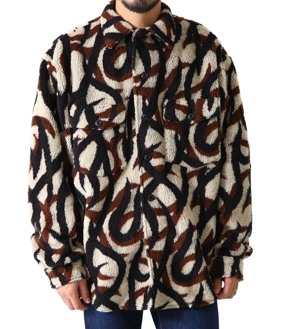 """BW TRIBAL CAMO"" FLEECE SHIRTS"