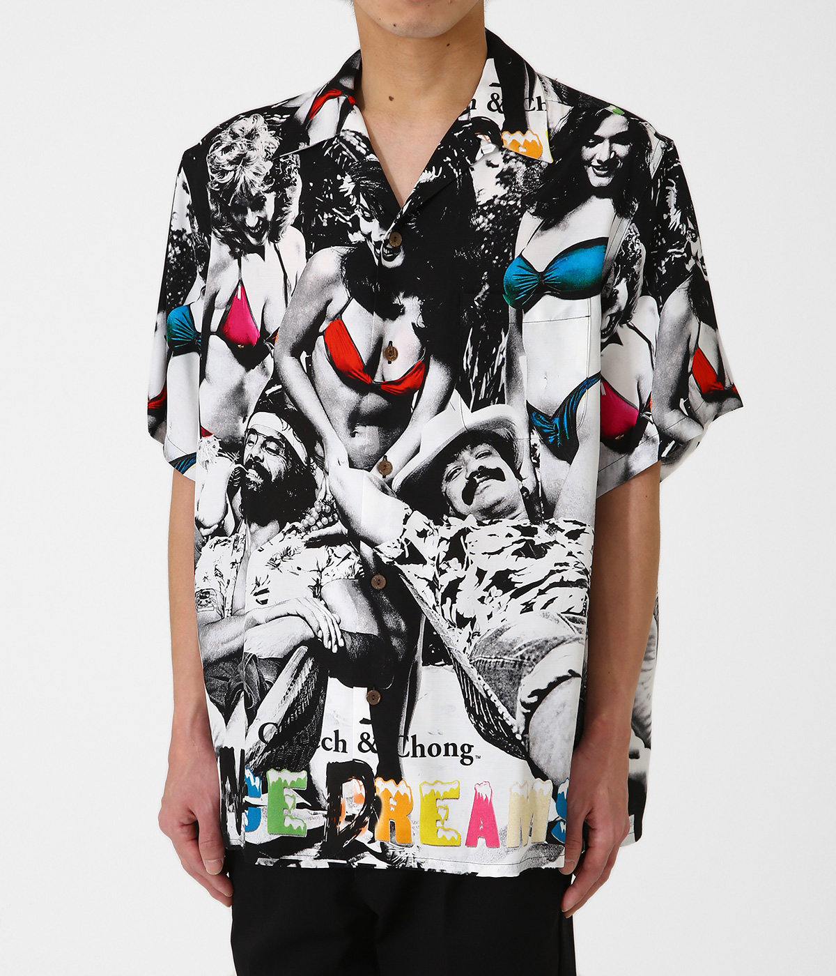 NICE DREAMS / S/S HAWAIIAN SHIRT