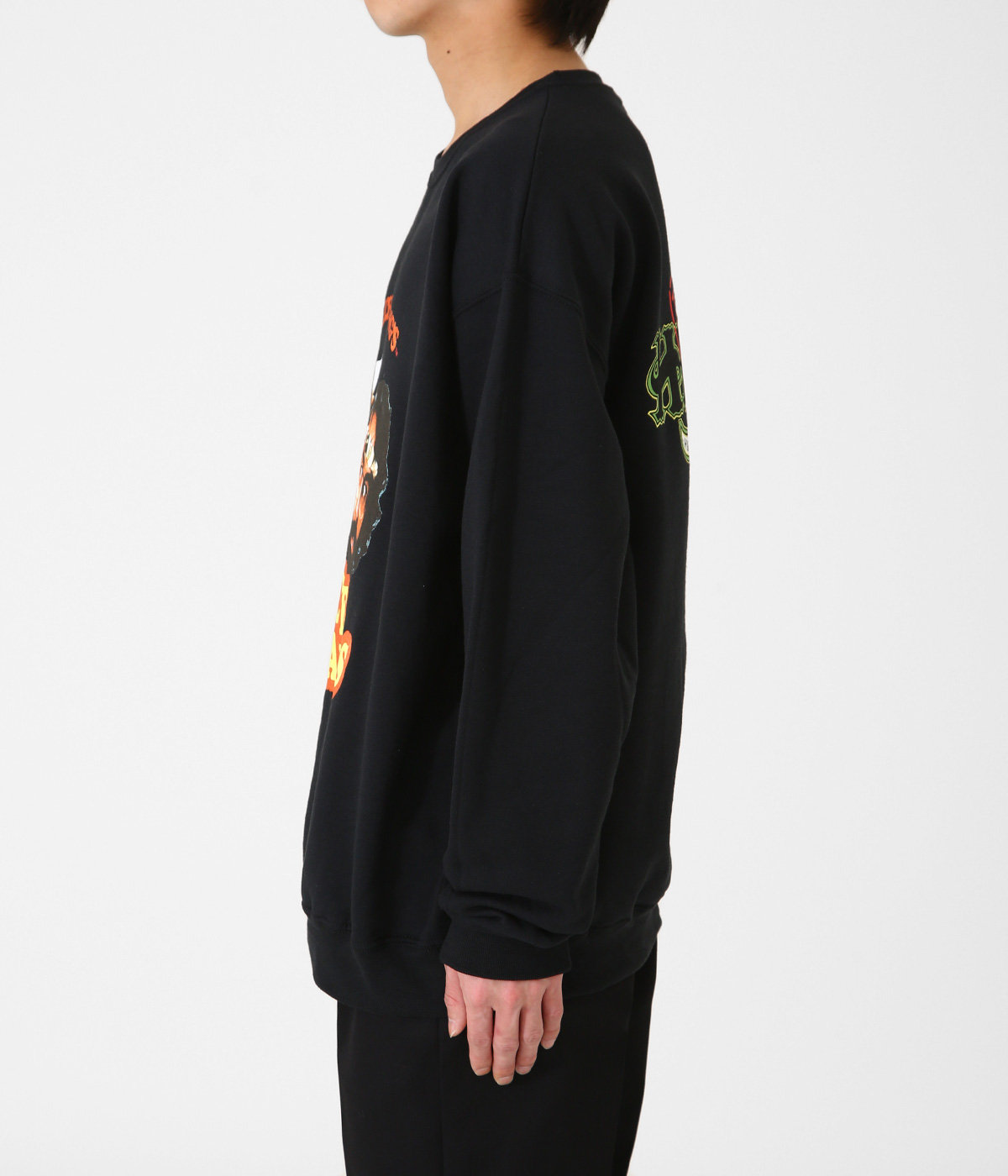 NICE DREAMS / CREW NECK SWEAT SHIRT ( TYPE-3 )