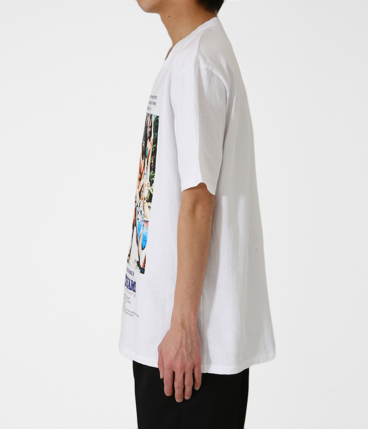 NICE DREAMS / WASHED HEAVY WEIGHT CREW NECK T-SHIRT ( TYPE-1 )