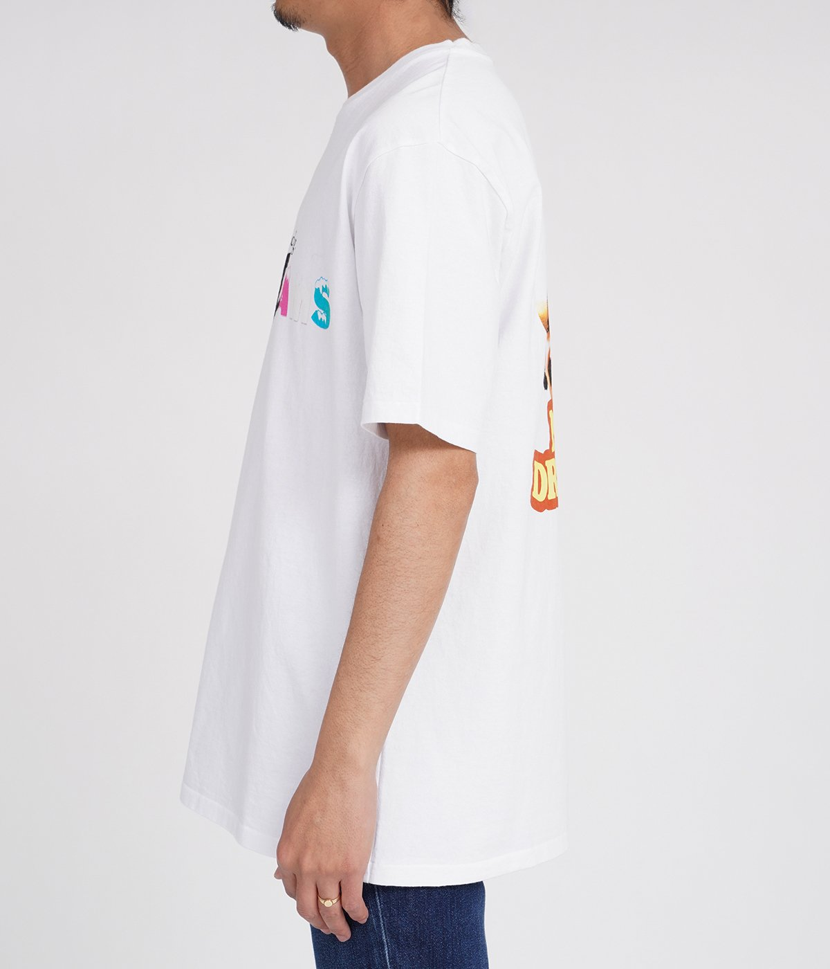 NICE DREAMS / WASHED HEAVY WEIGHT CREW NECK T-SHIRT ( TYPE-3 )
