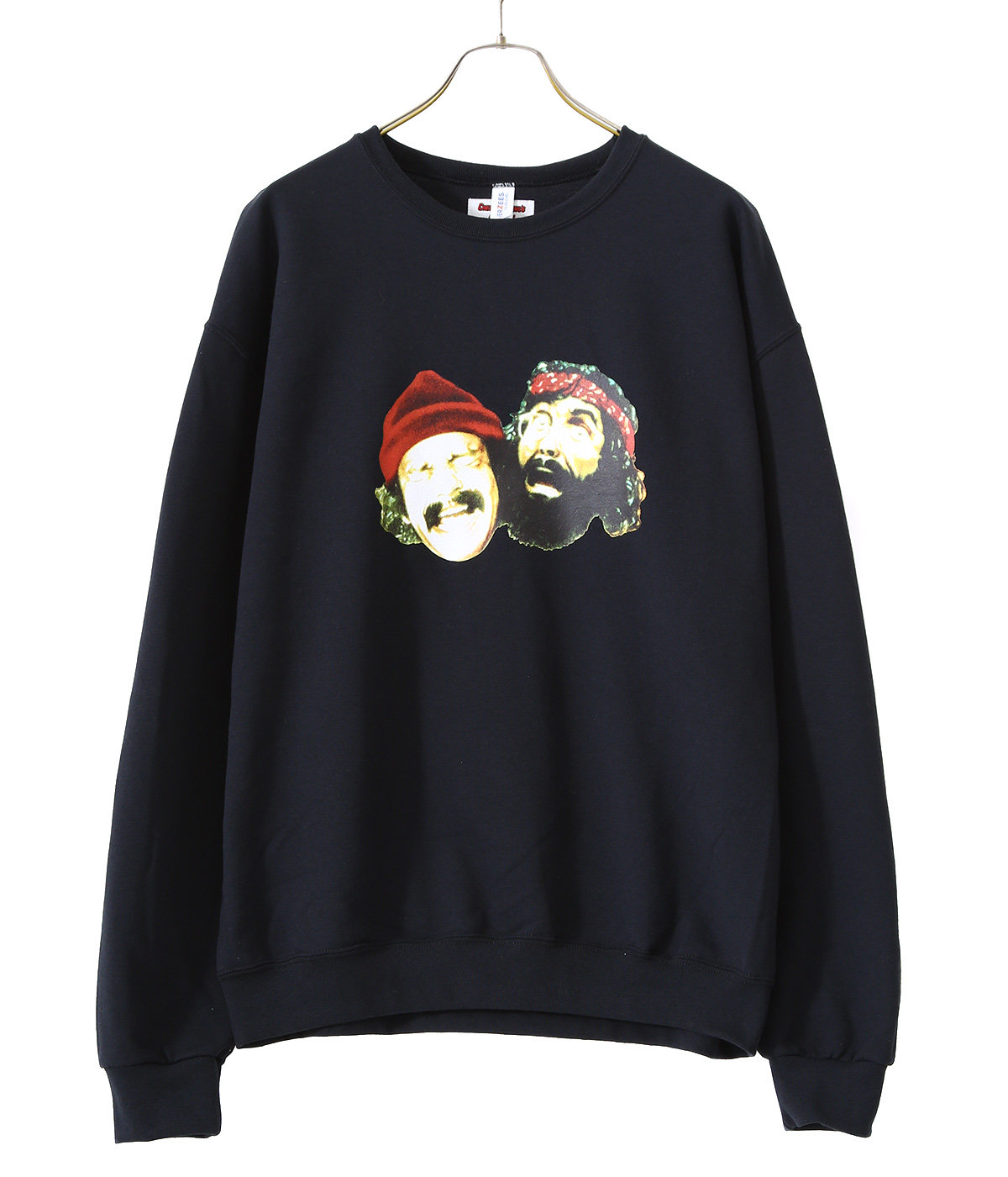 UP IN SMOKE / CREW NECK SWEAT SHIRT (TYPE-2)