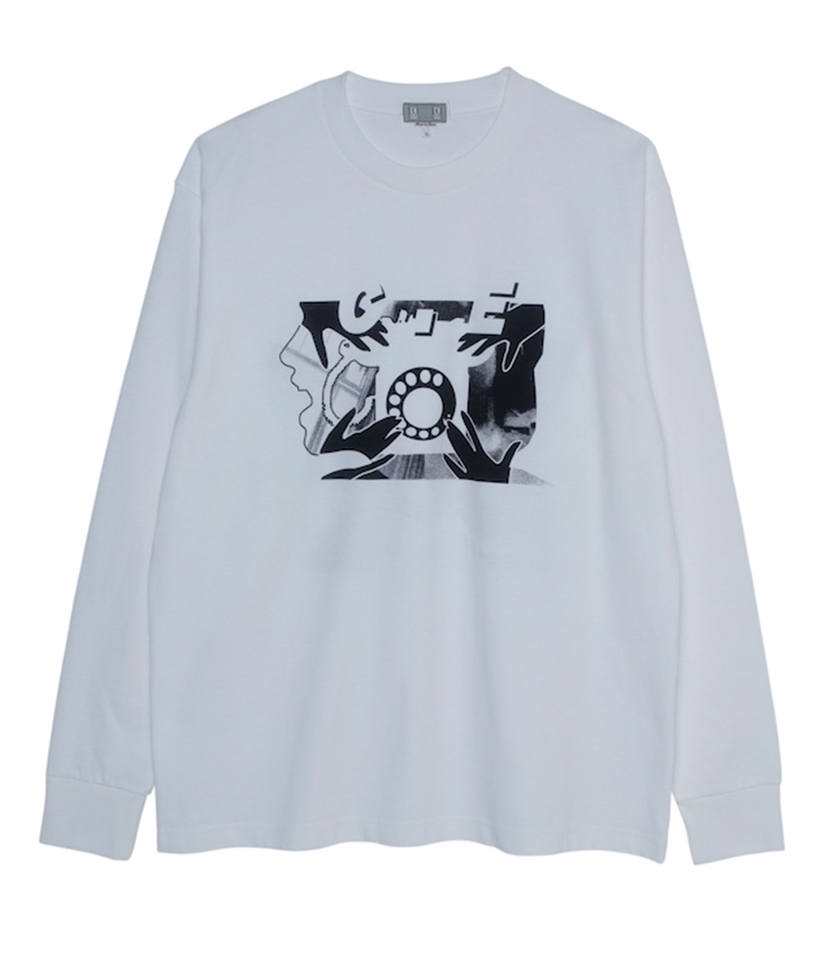 ROTARY DIAL LONG SLEEVE T