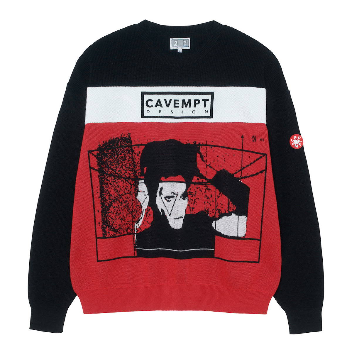 CAVEMPT DESIGN KNIT