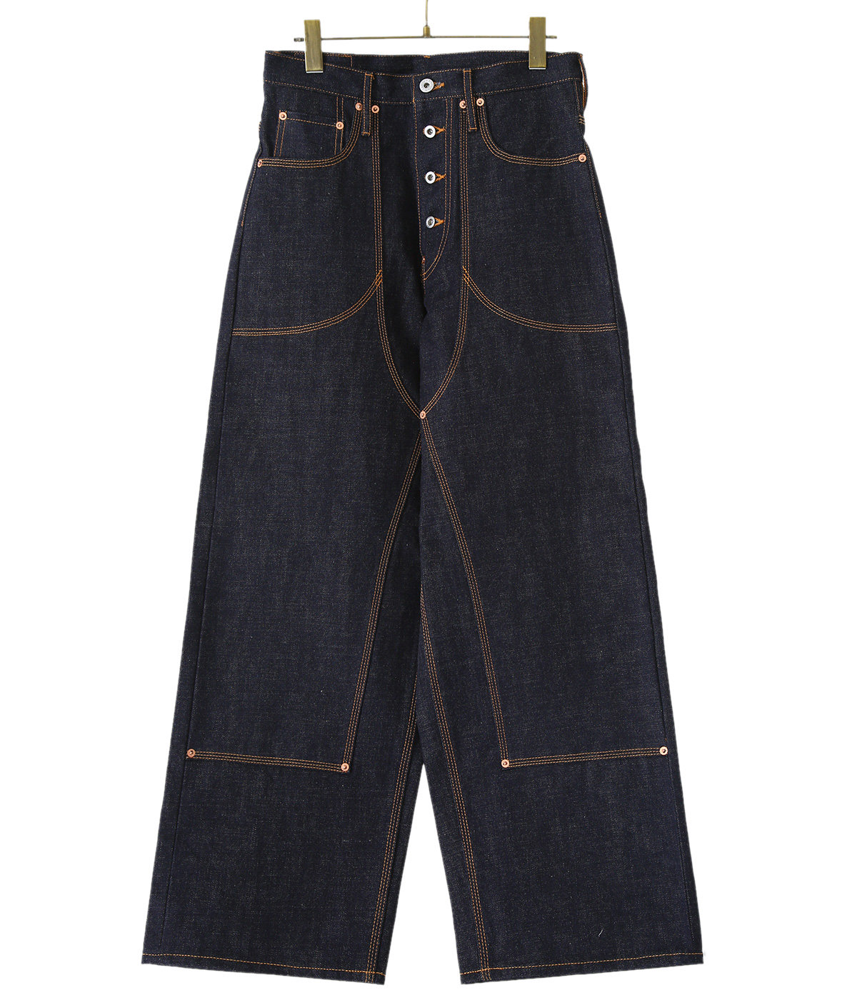 【予約】CLASSIC DOUBLE KNEE DENIM PANTS
