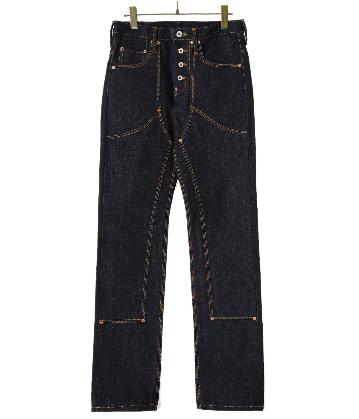 【予約】CLASSIC STRAGHT DENIM PANTS