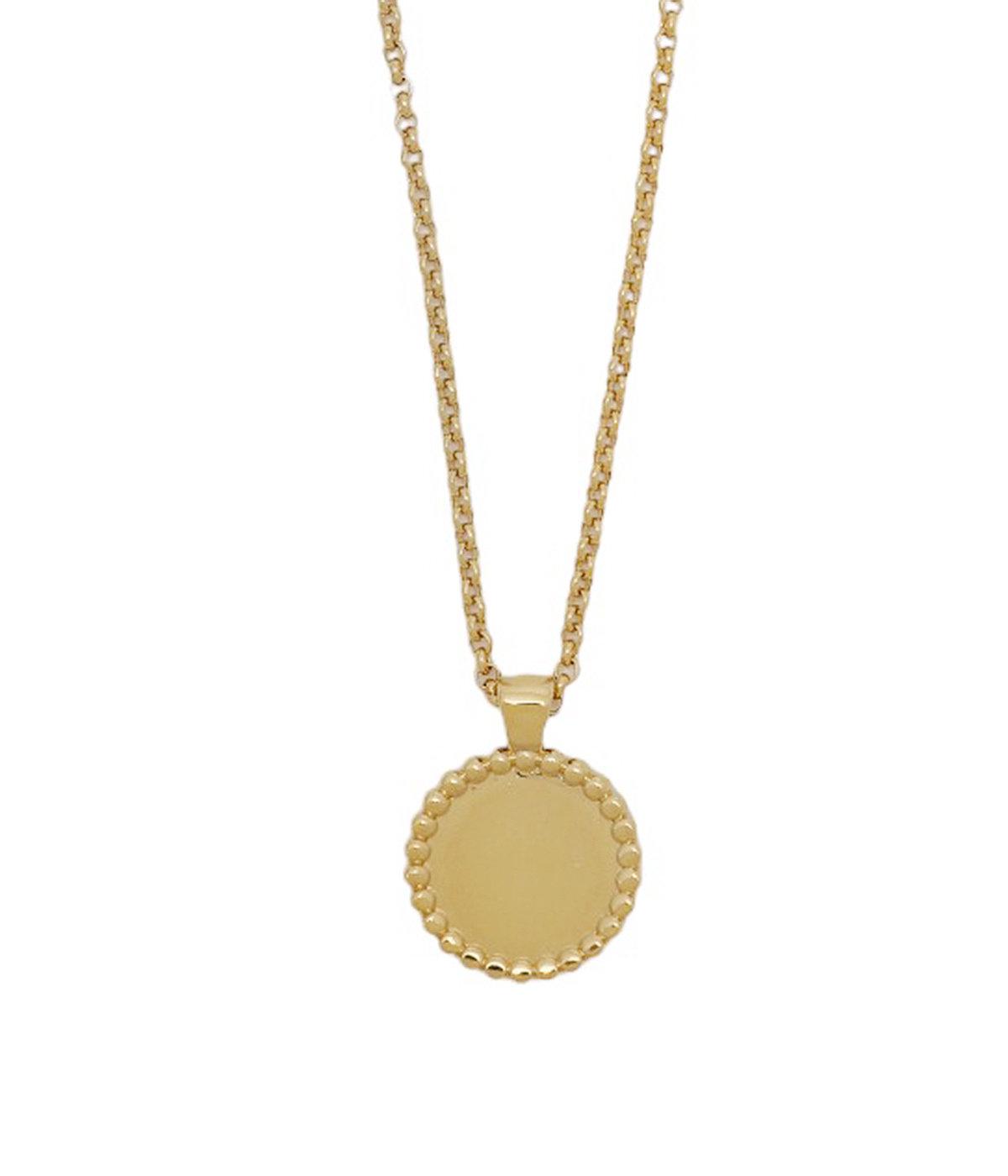 【レディース】Sid necklace bress pm Light gold