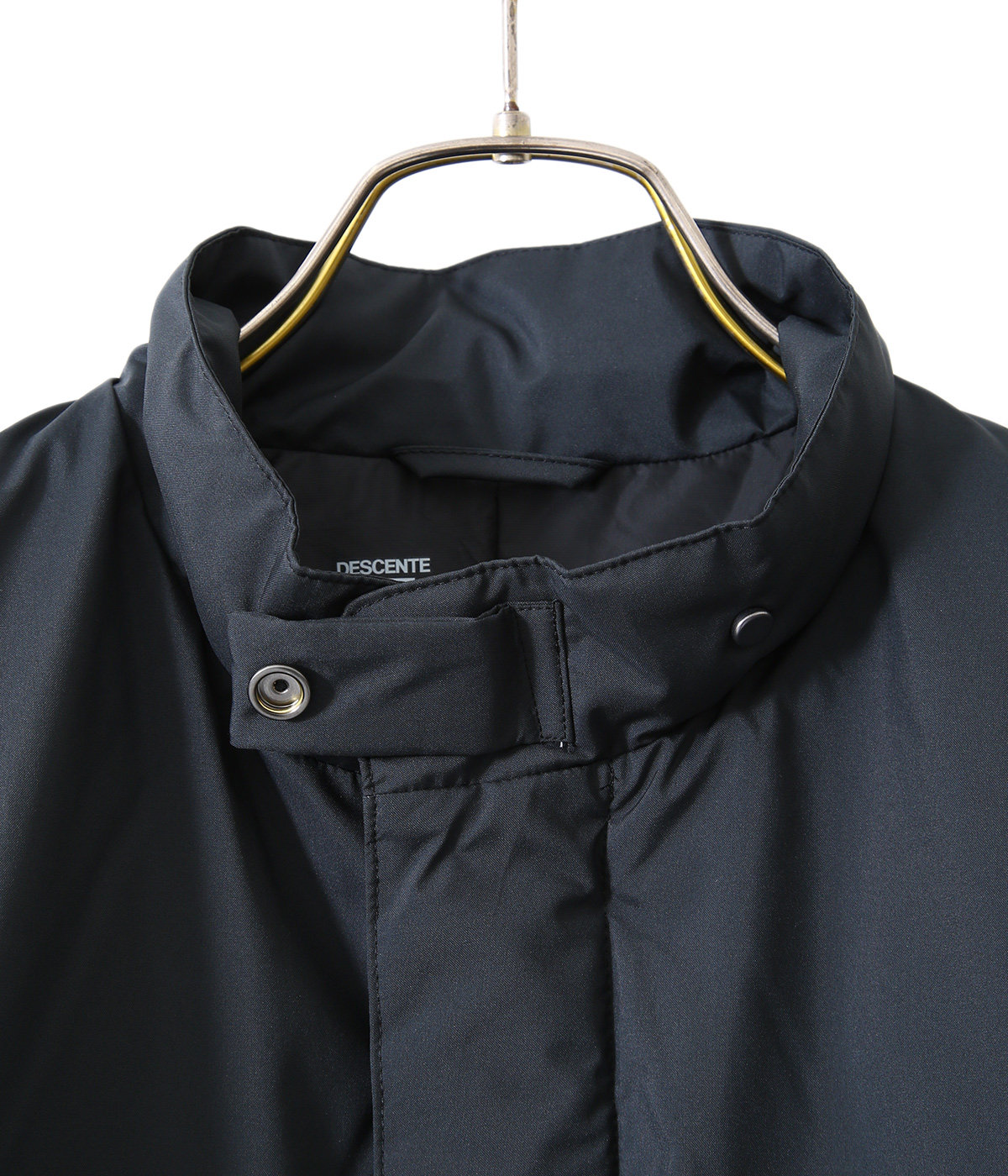 STAND COLLAR DOWN COAT
