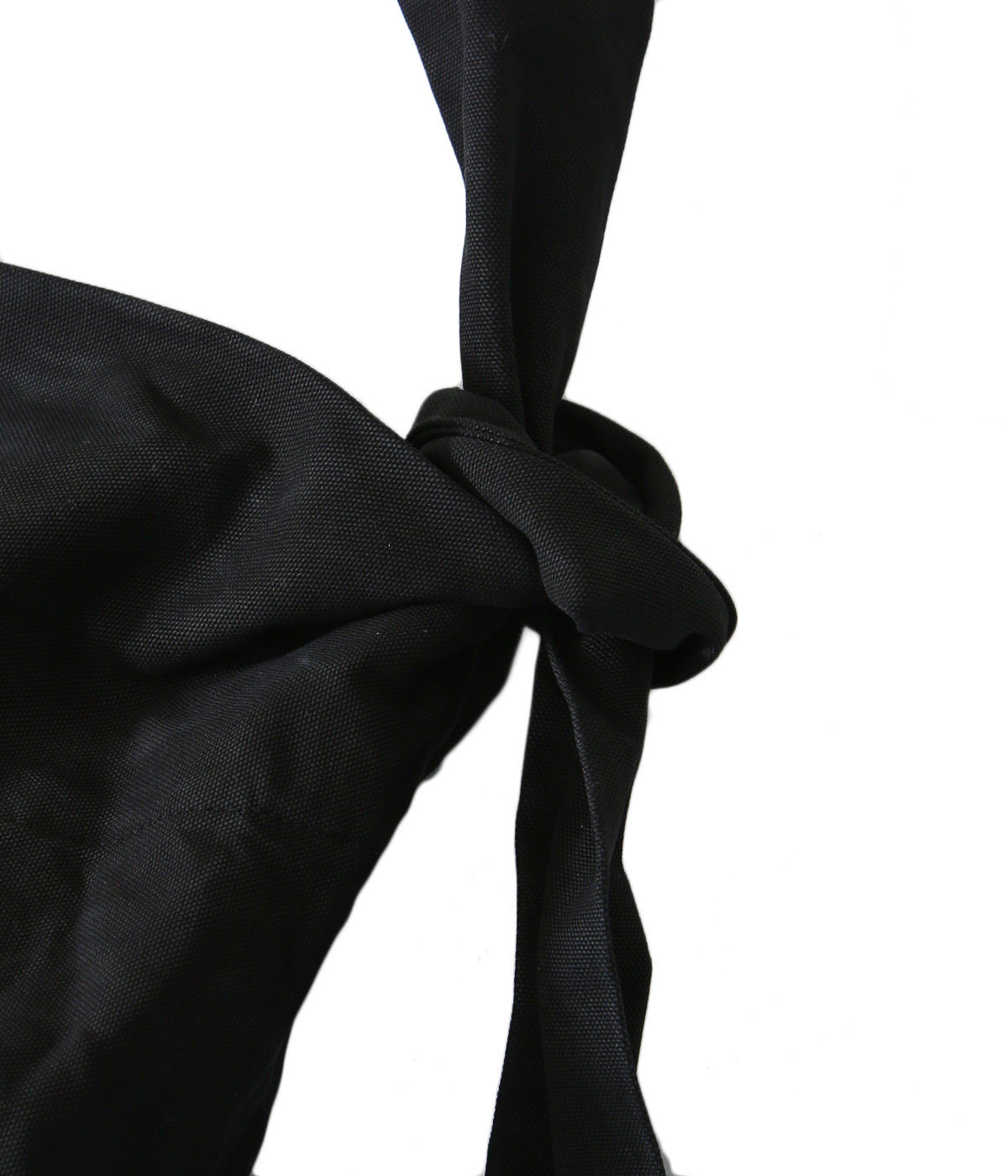 Large tied bag
