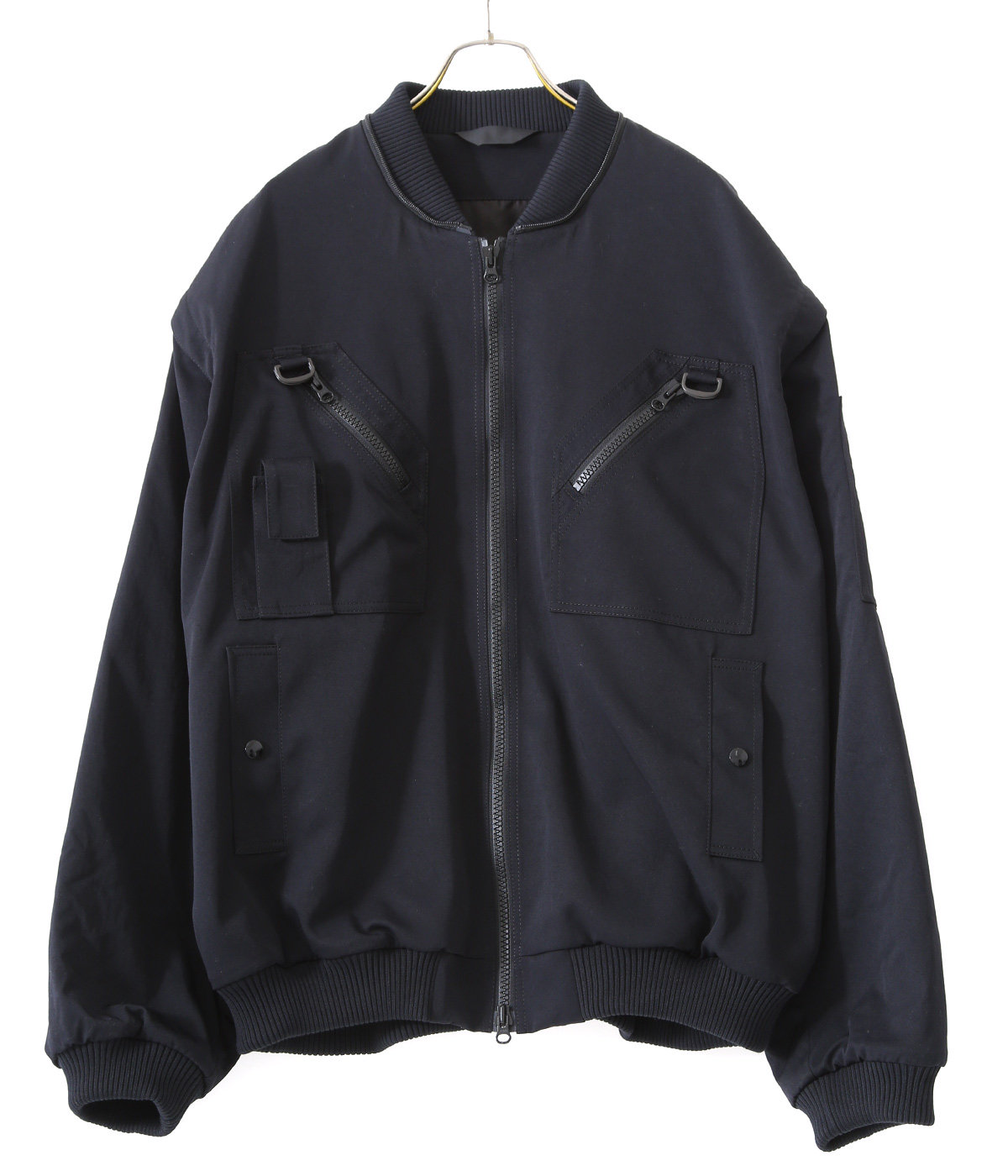 BLUE COLOR BLOUSON