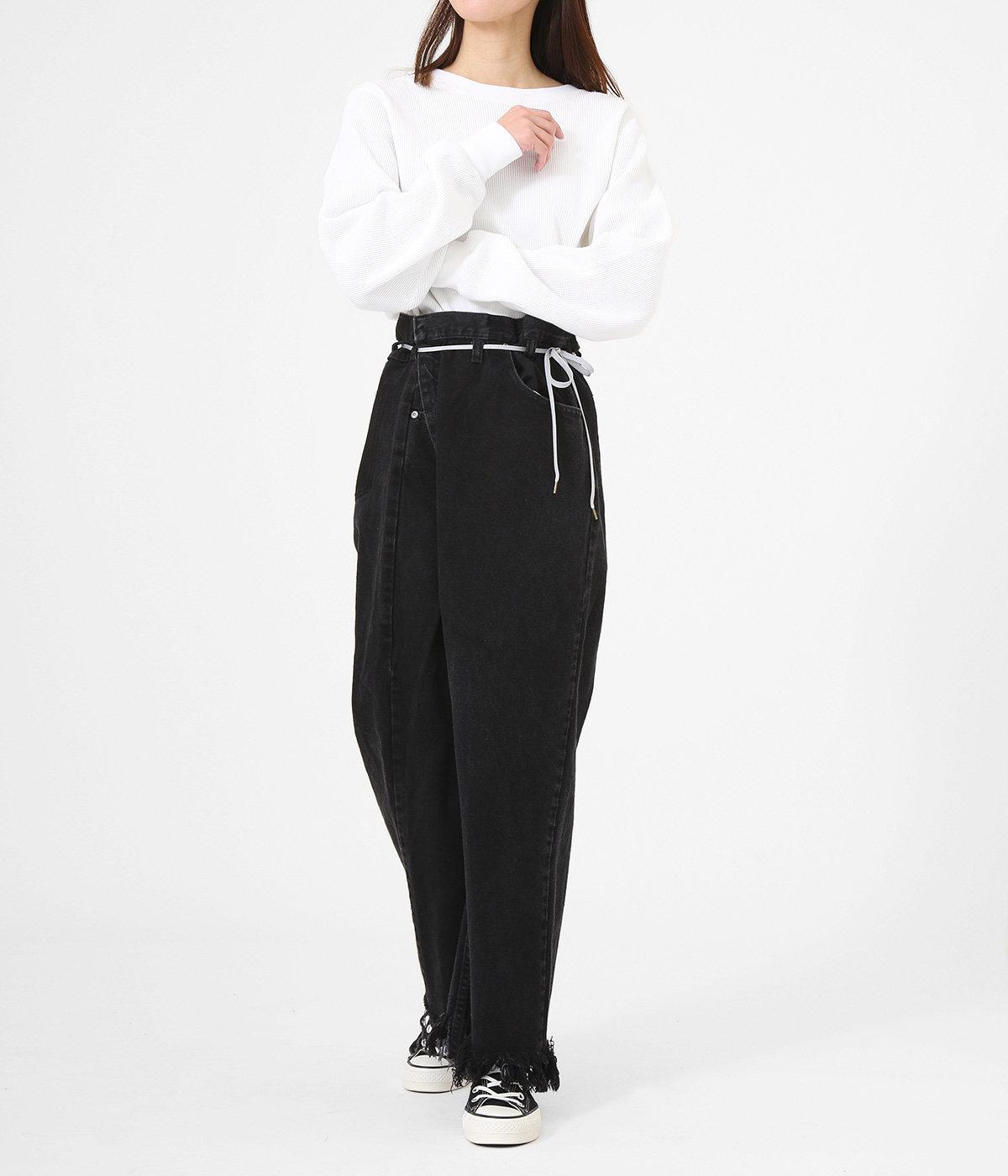 【レディース】VINTAGE REWORK BIGGY PANTS