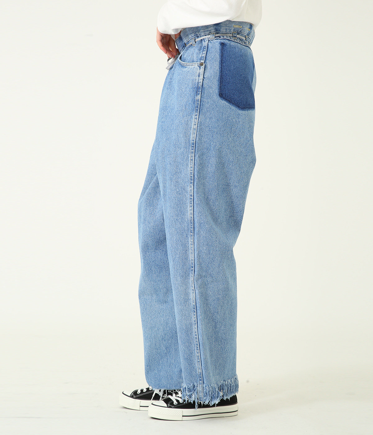 【レディース】VINTAGE REWORK BIGGY PANTS