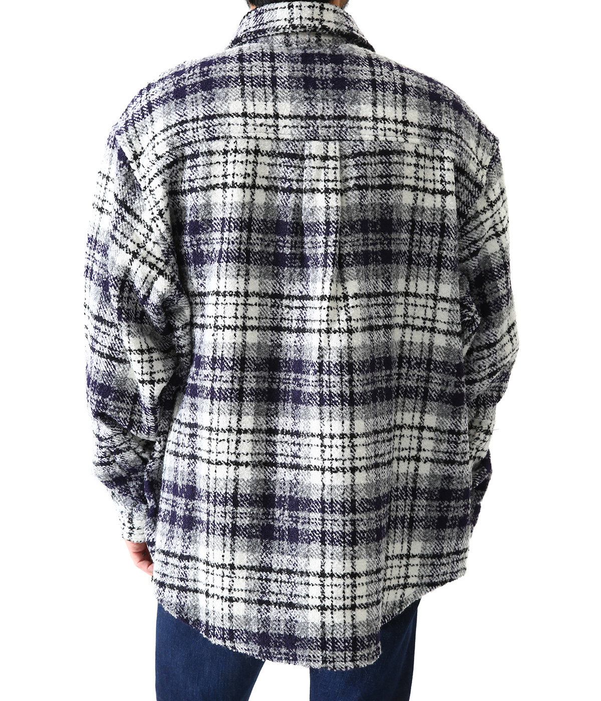 Heavy Flannel Over Shirt