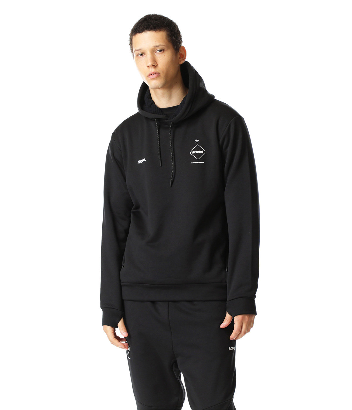 POLARTEC POWER STRETCH TRAINING HOODIE