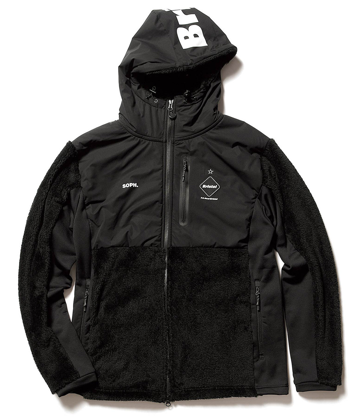 POLARTEC FLEECE HYBRID BLOUSON