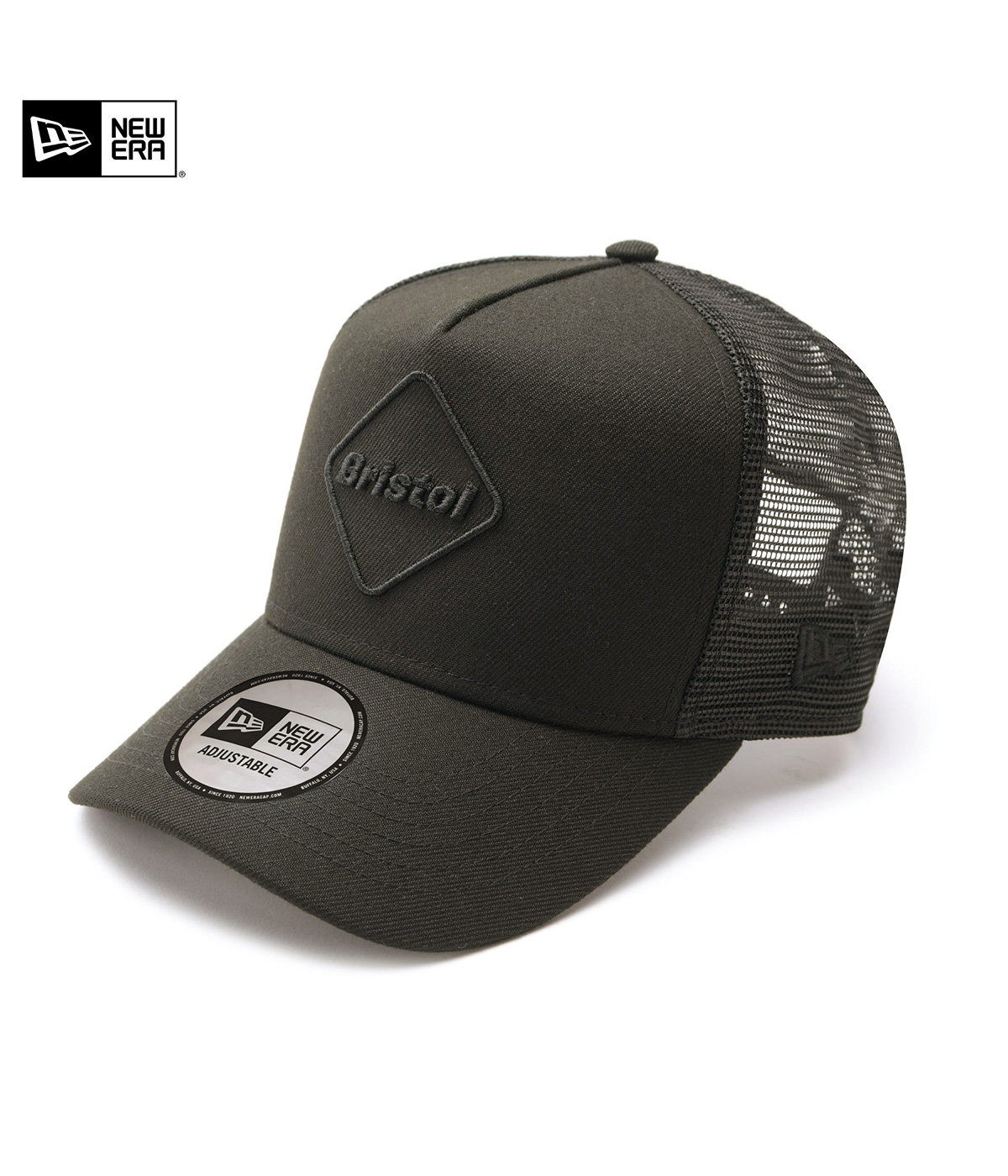 NEW ERA EMBLEM MESH CAP*