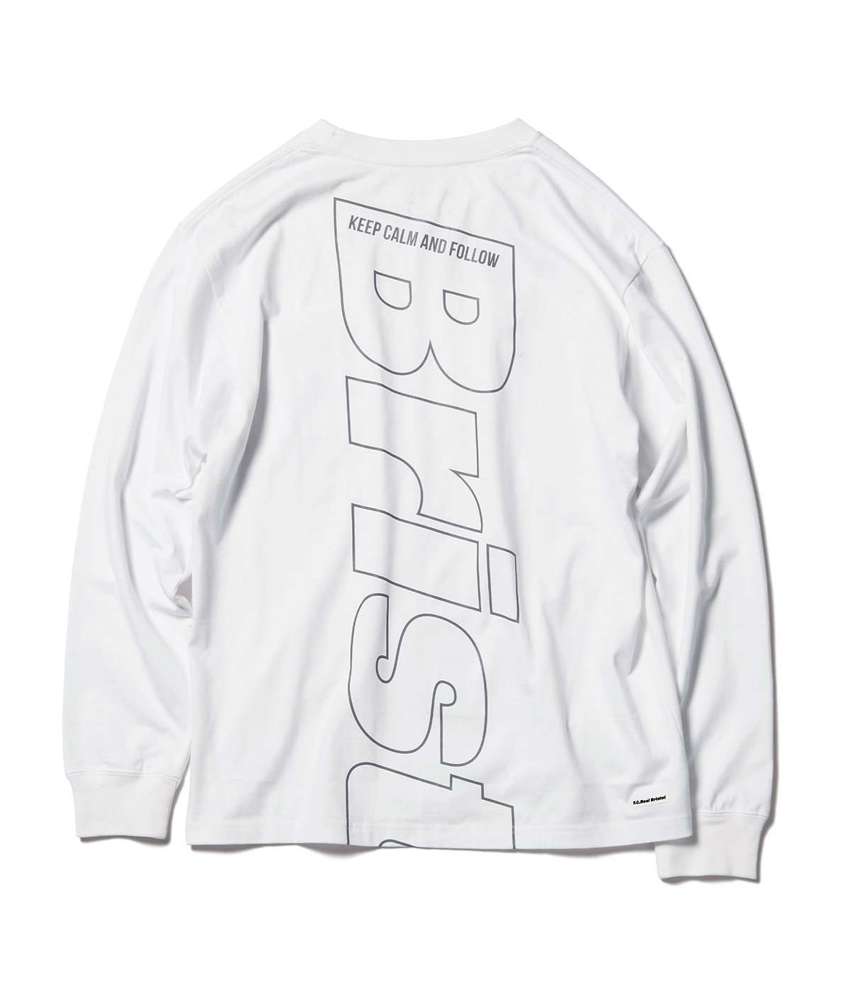 L/S REFLECTIVE BIG LOGO TEE