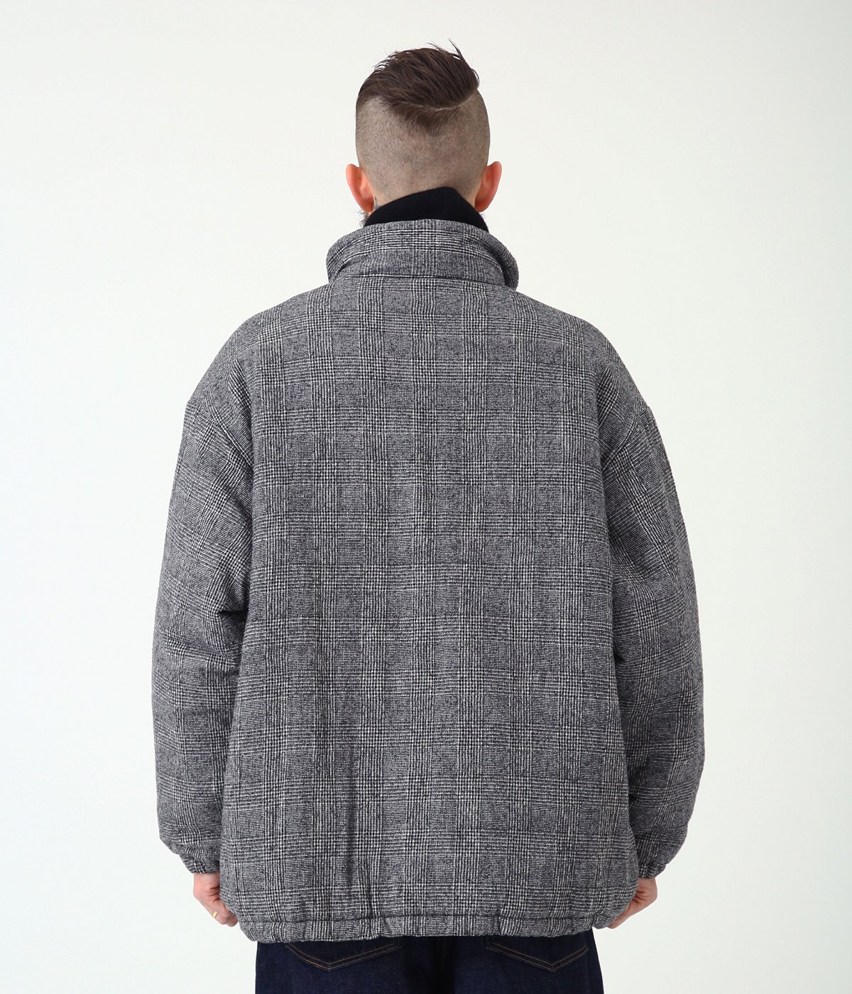 MILLING C/W TWILL PADDED TRACK JACKET