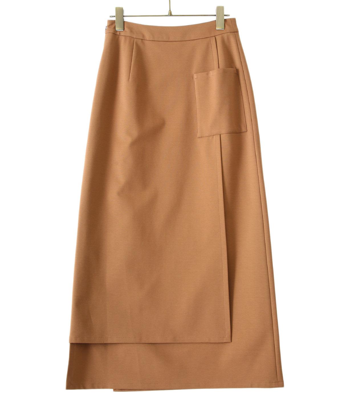 【レディース】Compact Ponte Wrap Skirt