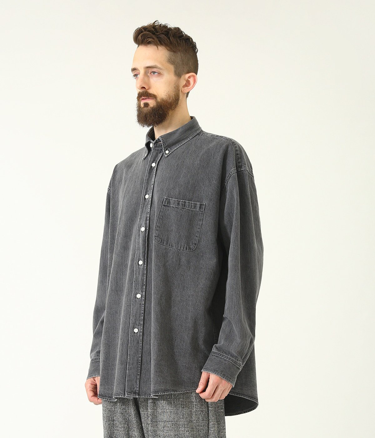 10oz. DENIM B.D. BIG SHIRT