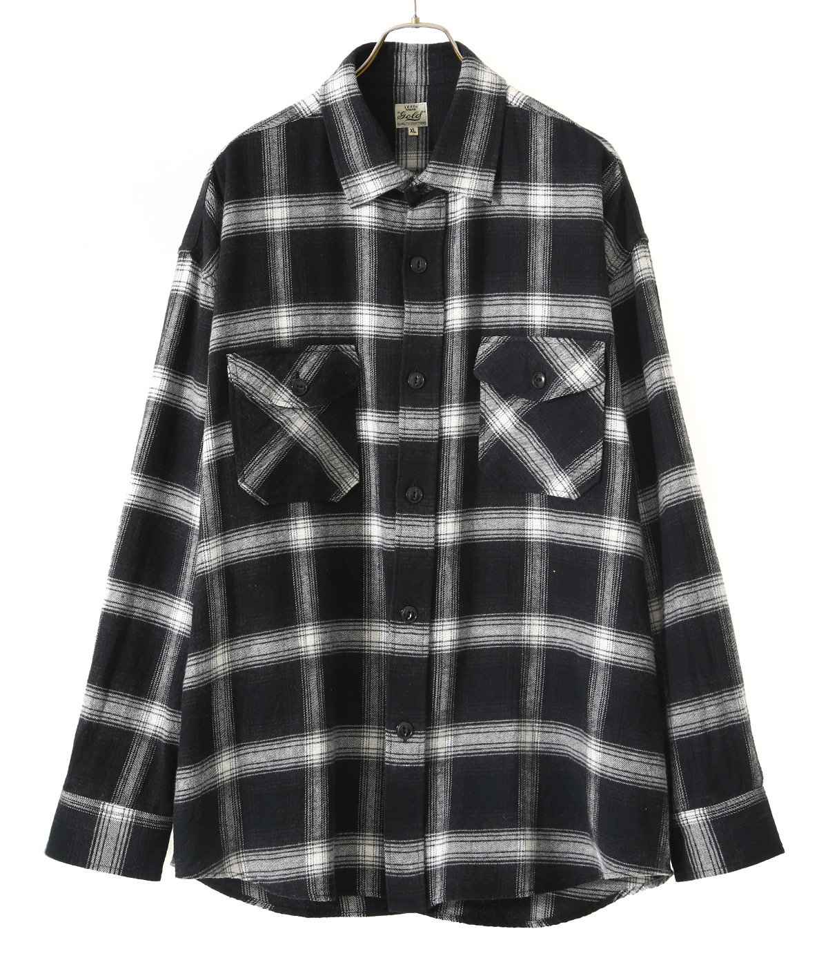 NEL CHECK BIG WORK SHIRT