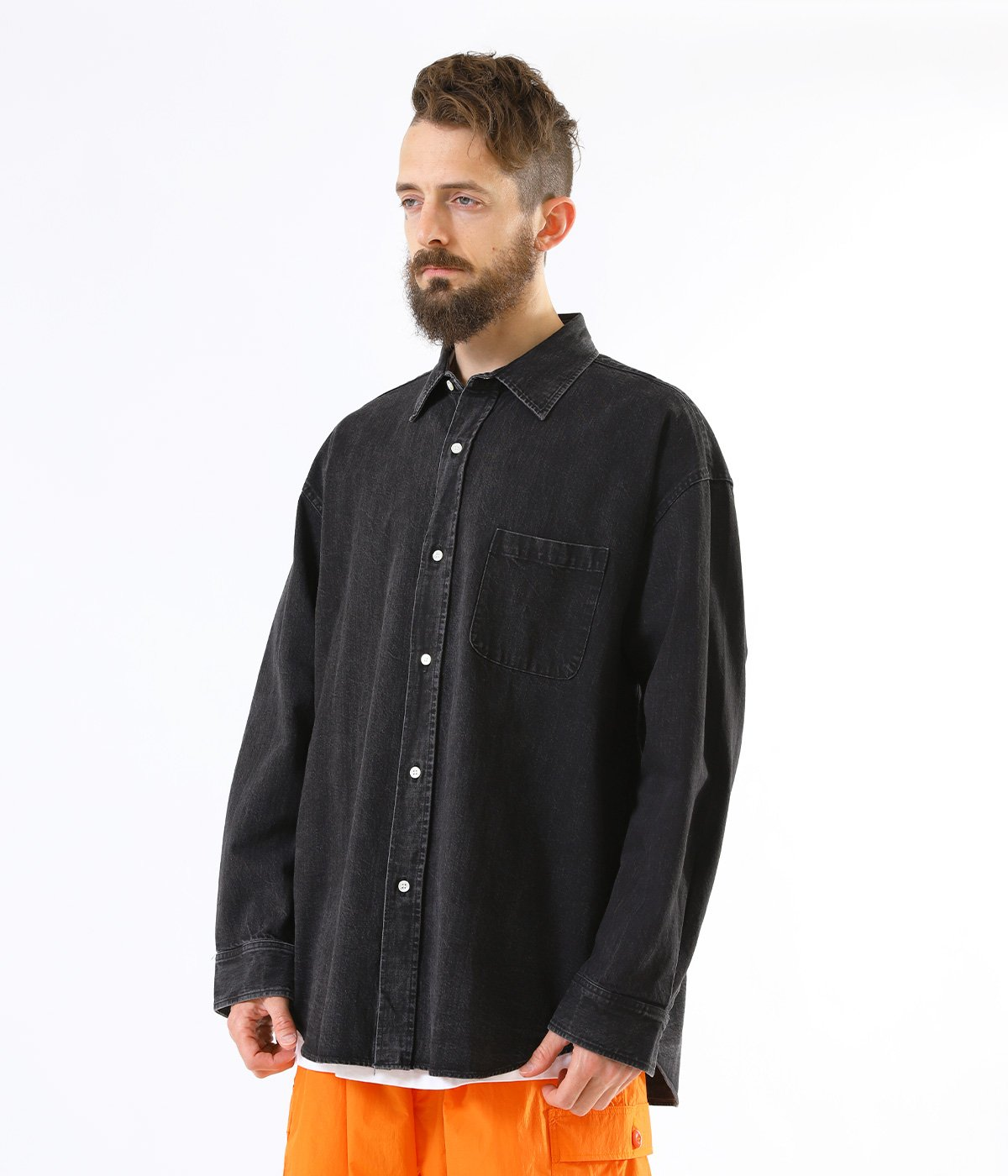 10oz. DENIM BIG SHIRT