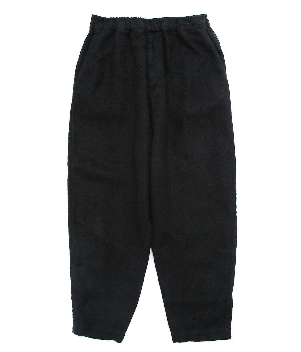 LINEN HERRINGBONE EASY PANTS
