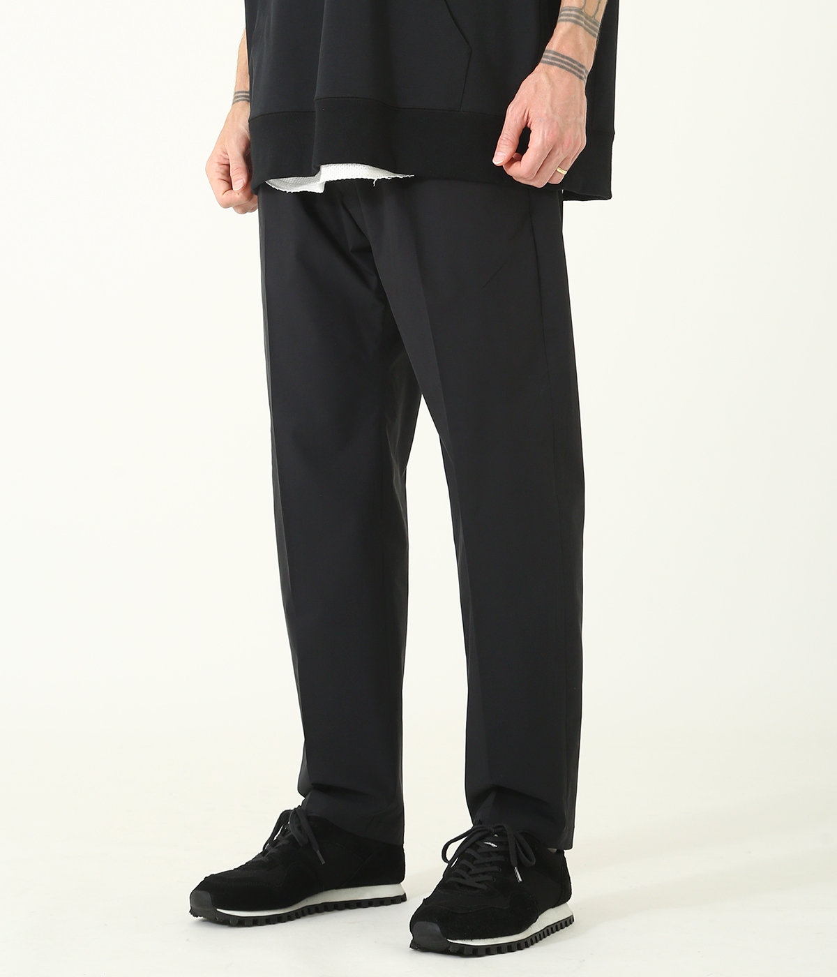 STRETCH WEATHER SLIM EASY PANTS