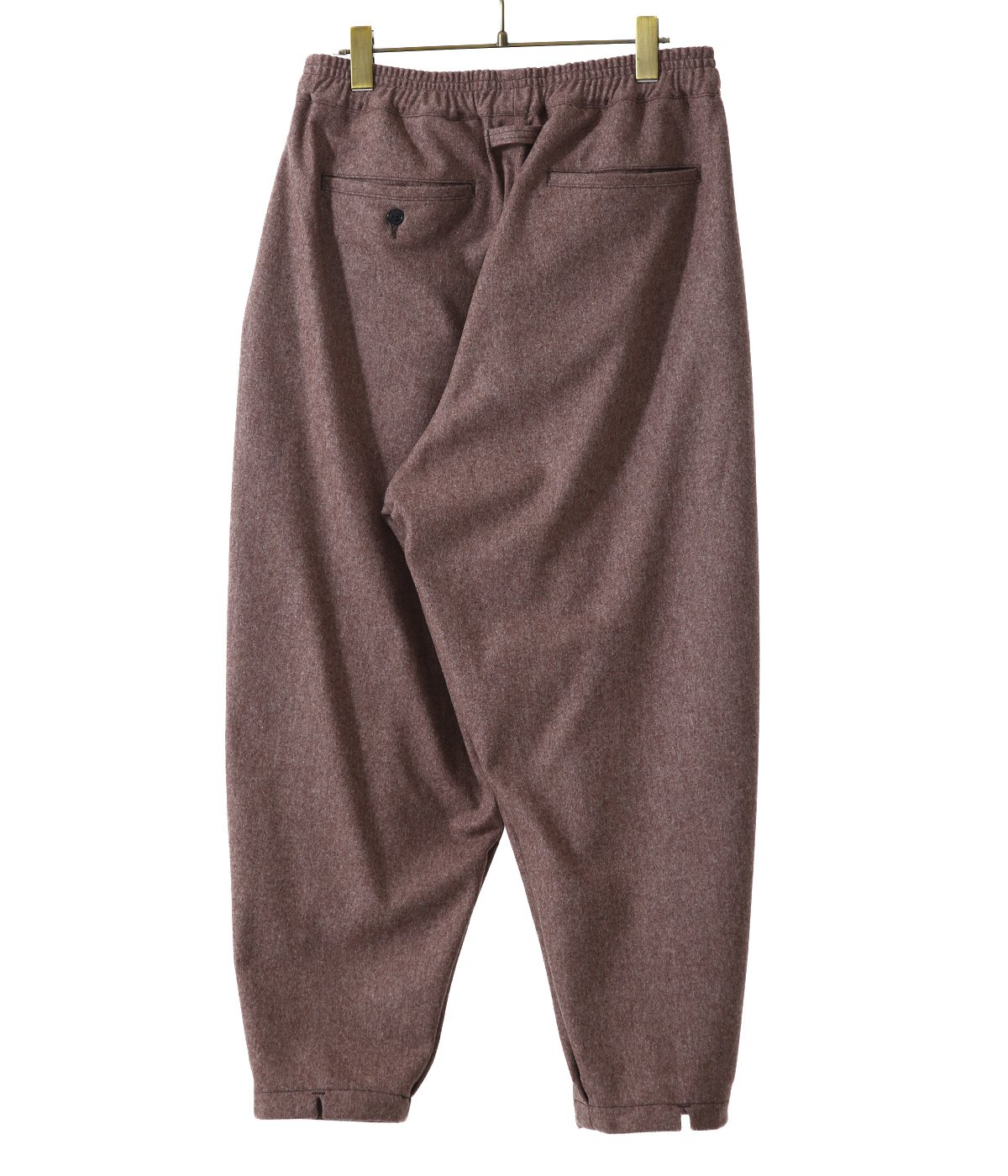 【予約】WOOL SOLID PIEROT PANTS
