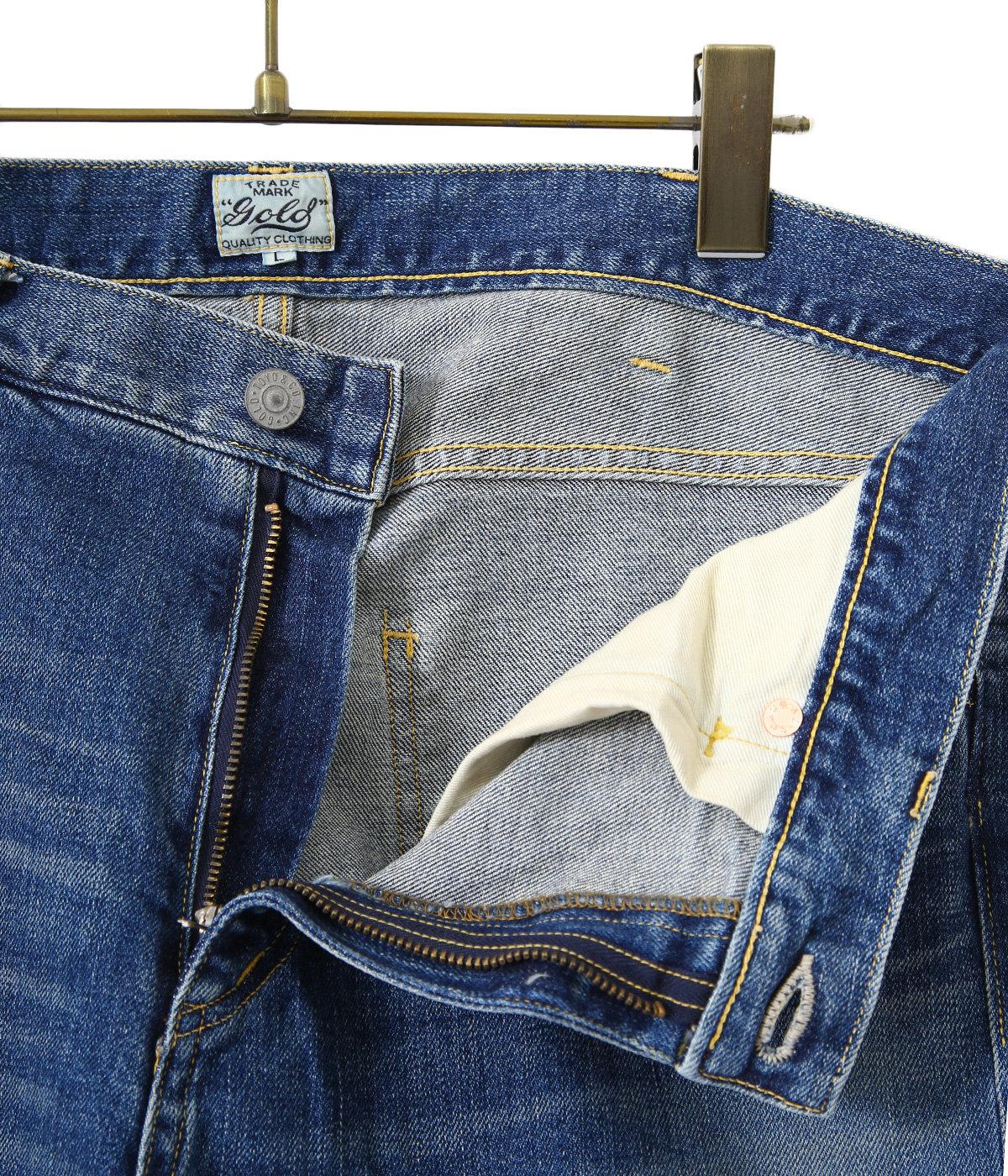12oz. STRECH DENIM 5POCKET SLIM PANTS HARD WASHED