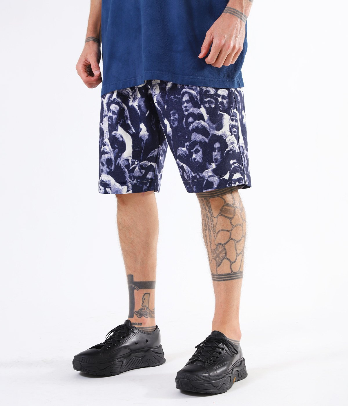 "COTTON WEATHER EASY TUCK SHORTS ""WOODSTOCK"""
