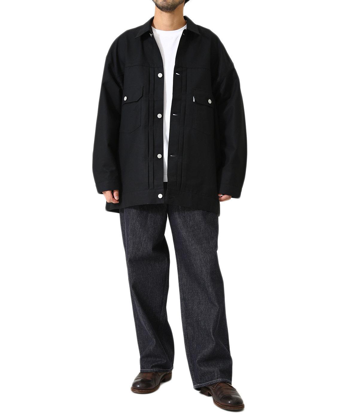 Double Cloth Peach Trucker Jacket