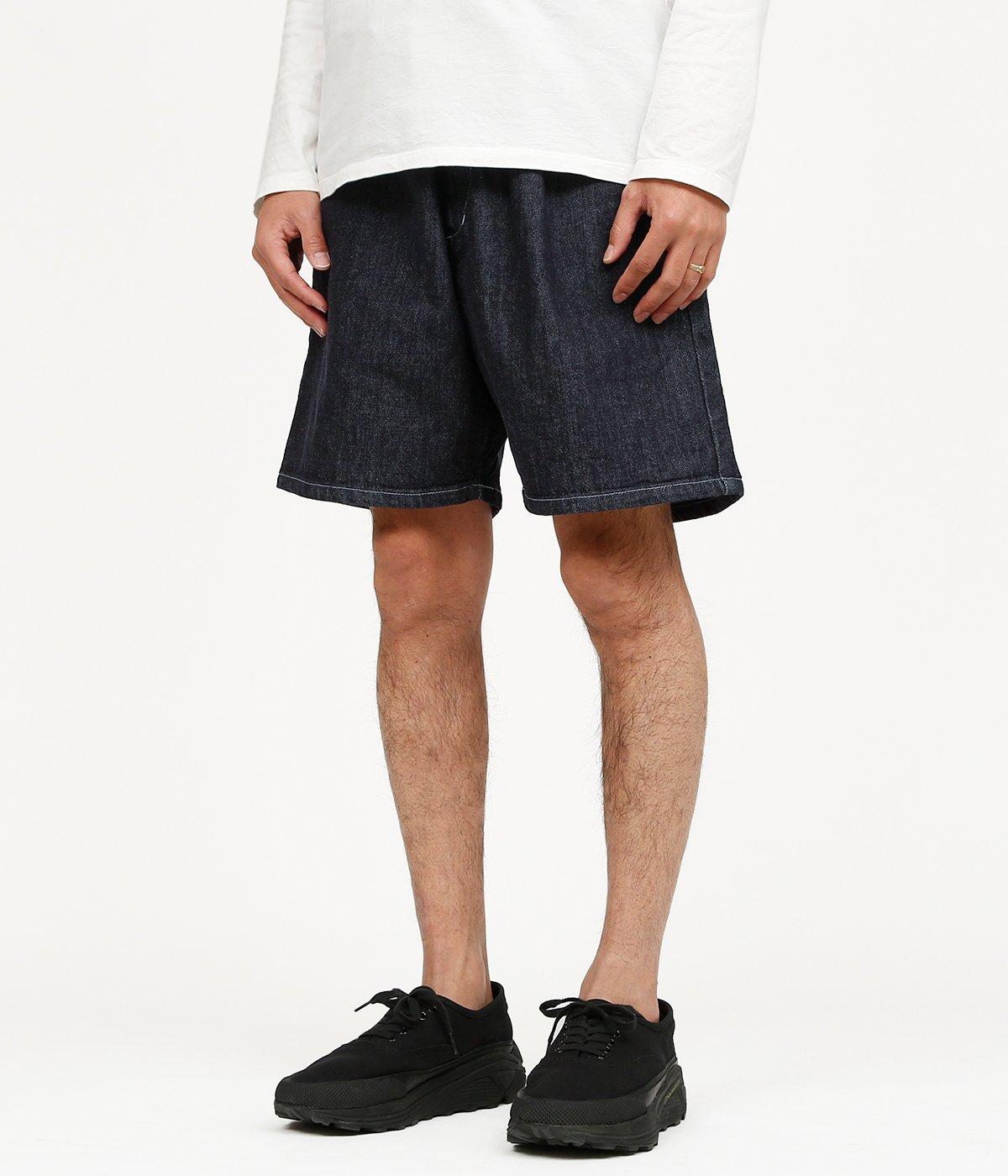 Colorfast Denim Wide Chef Shorts