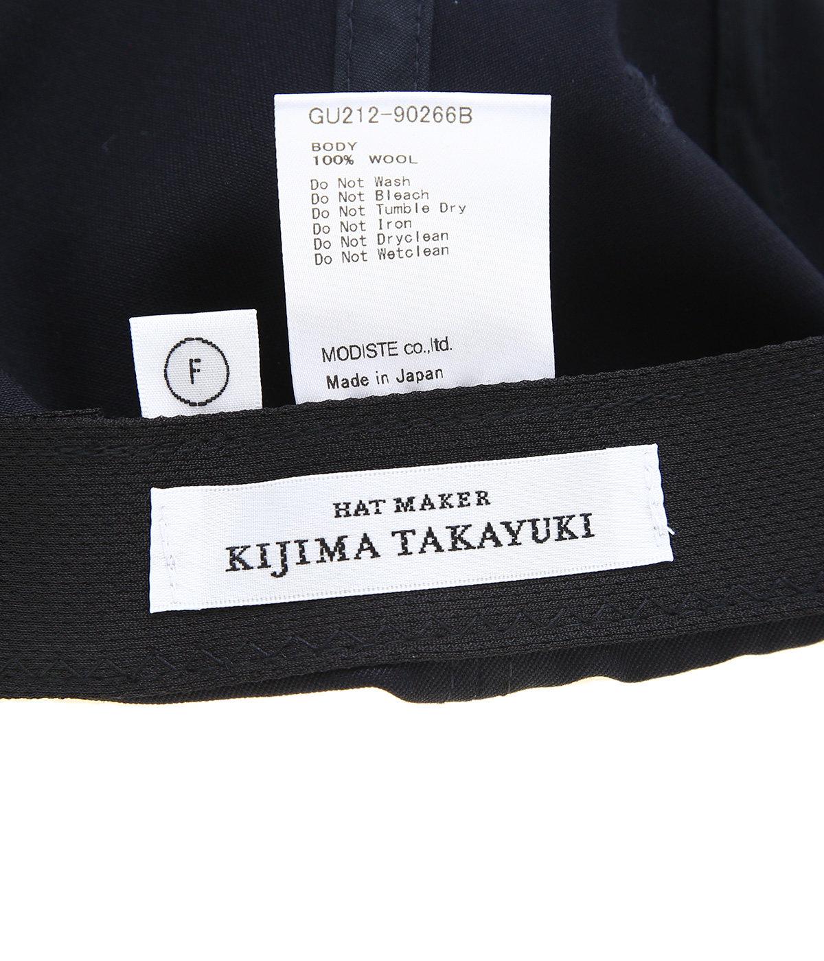 KIJIMA TAKAYUKI for Graphpaper Selvage Wool 6 Panel Cap