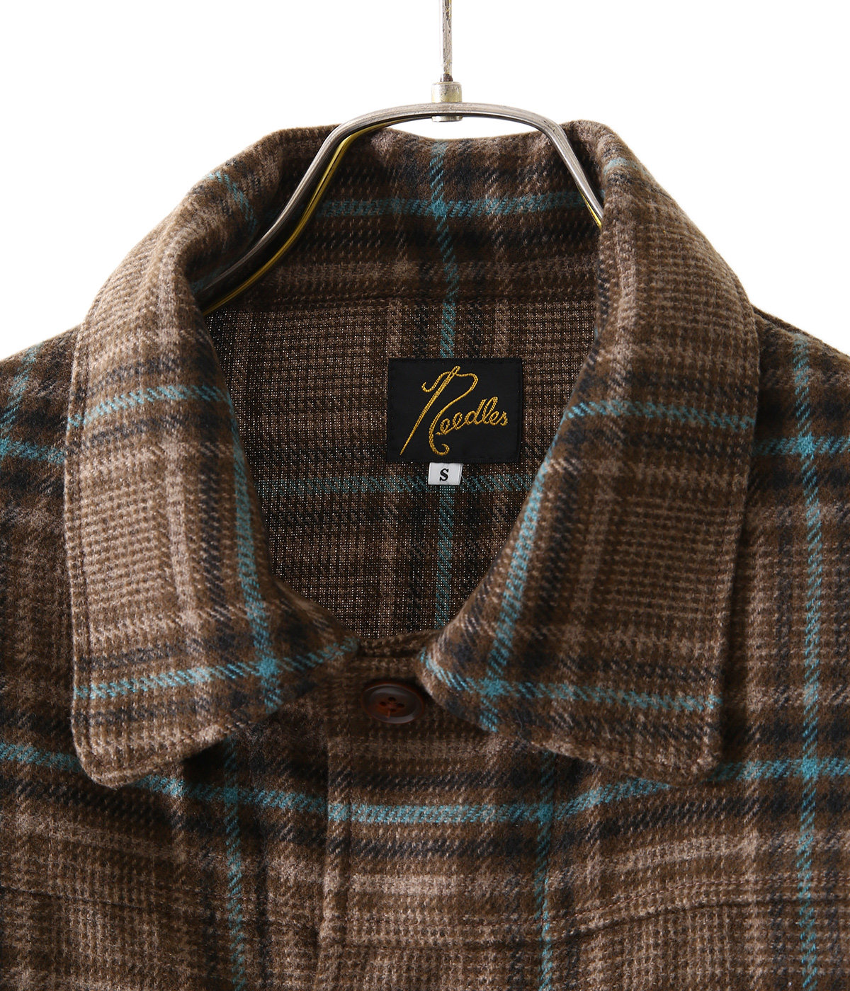 D.N. Coverall - Plaid Tweed