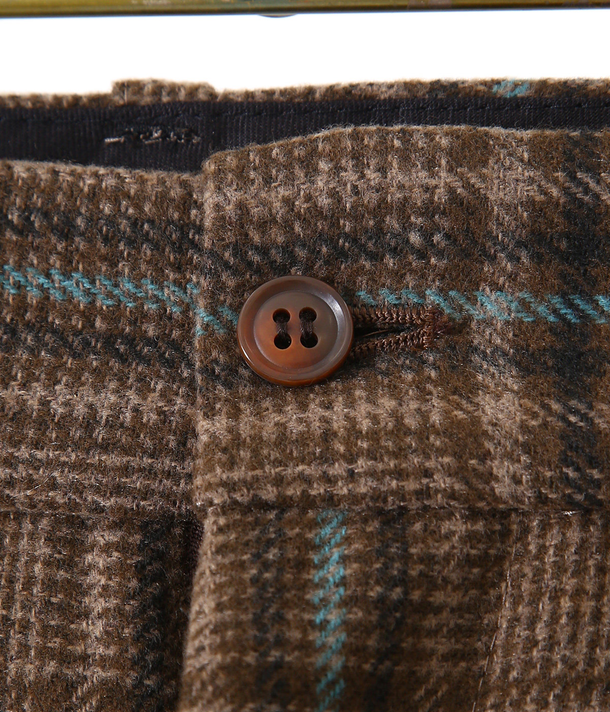F.P. Boot-Cut Trouser - Plaid Tweed
