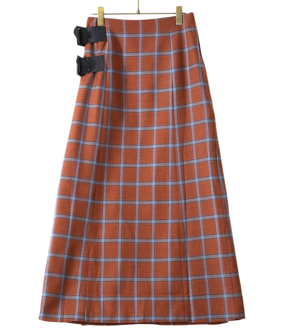 【レディース】Wrap Skirt - Plaid Twill