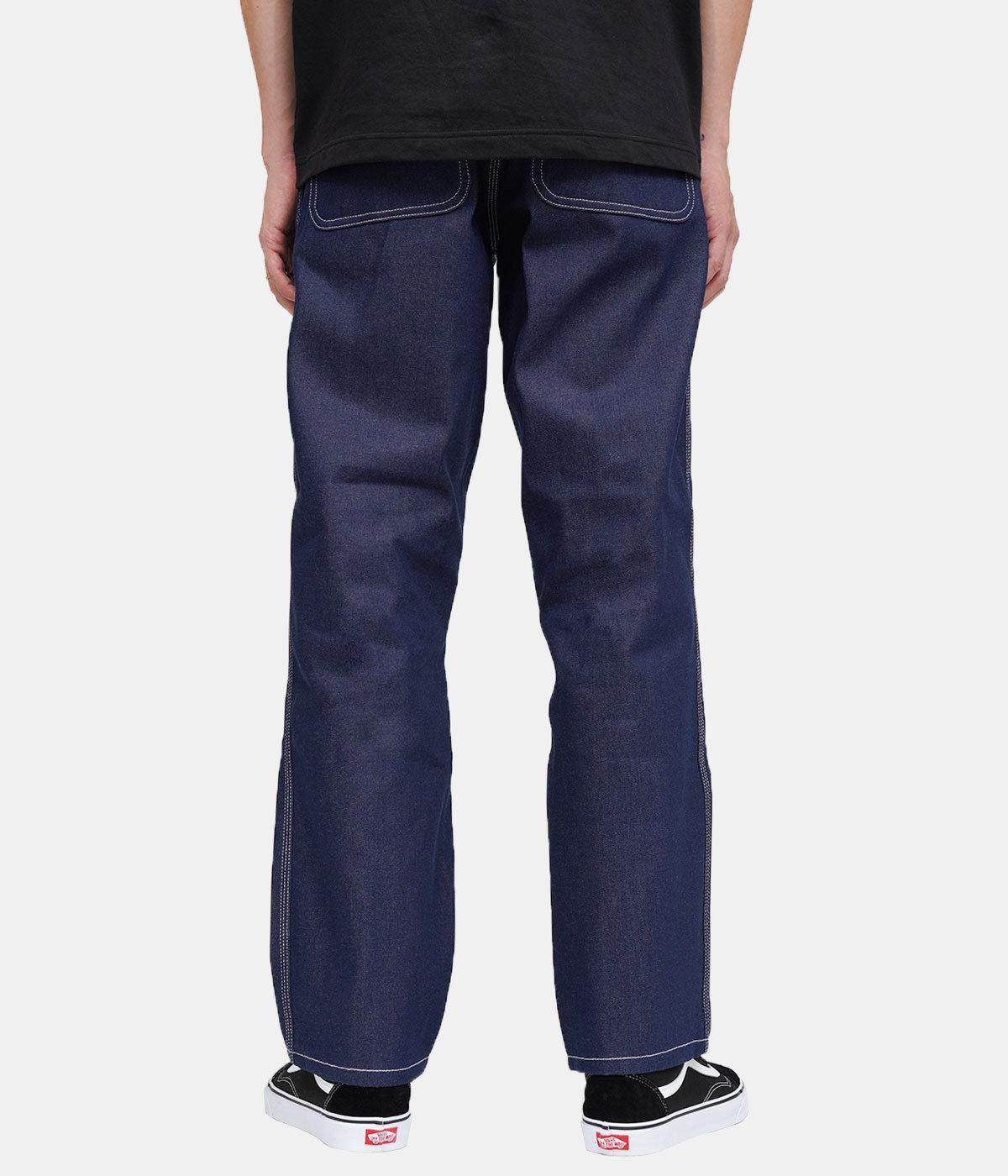 SIMPLE PANT -BLUE RIGID-