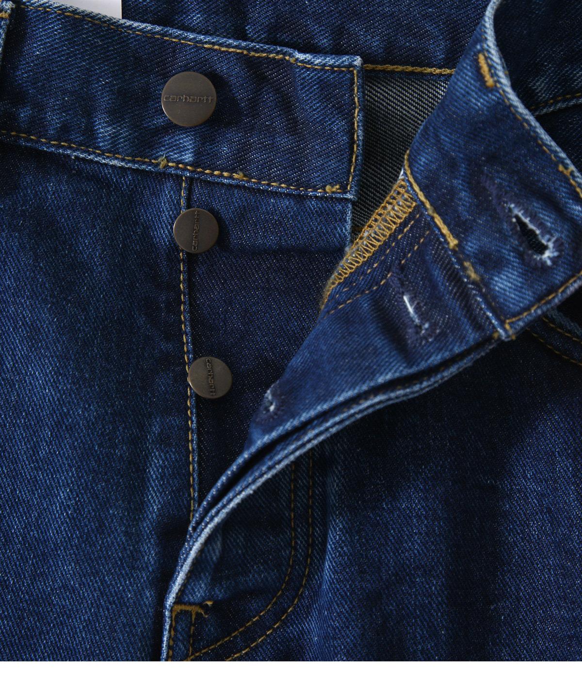 NEWEL PANT -Blue stone washed-
