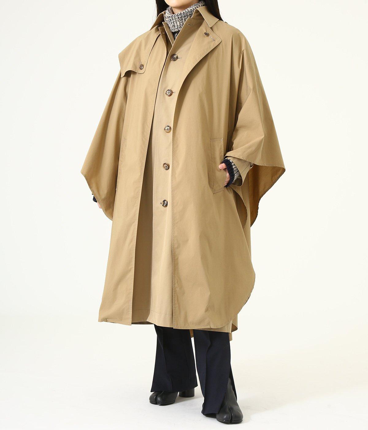 【レディース】cloak trench coat