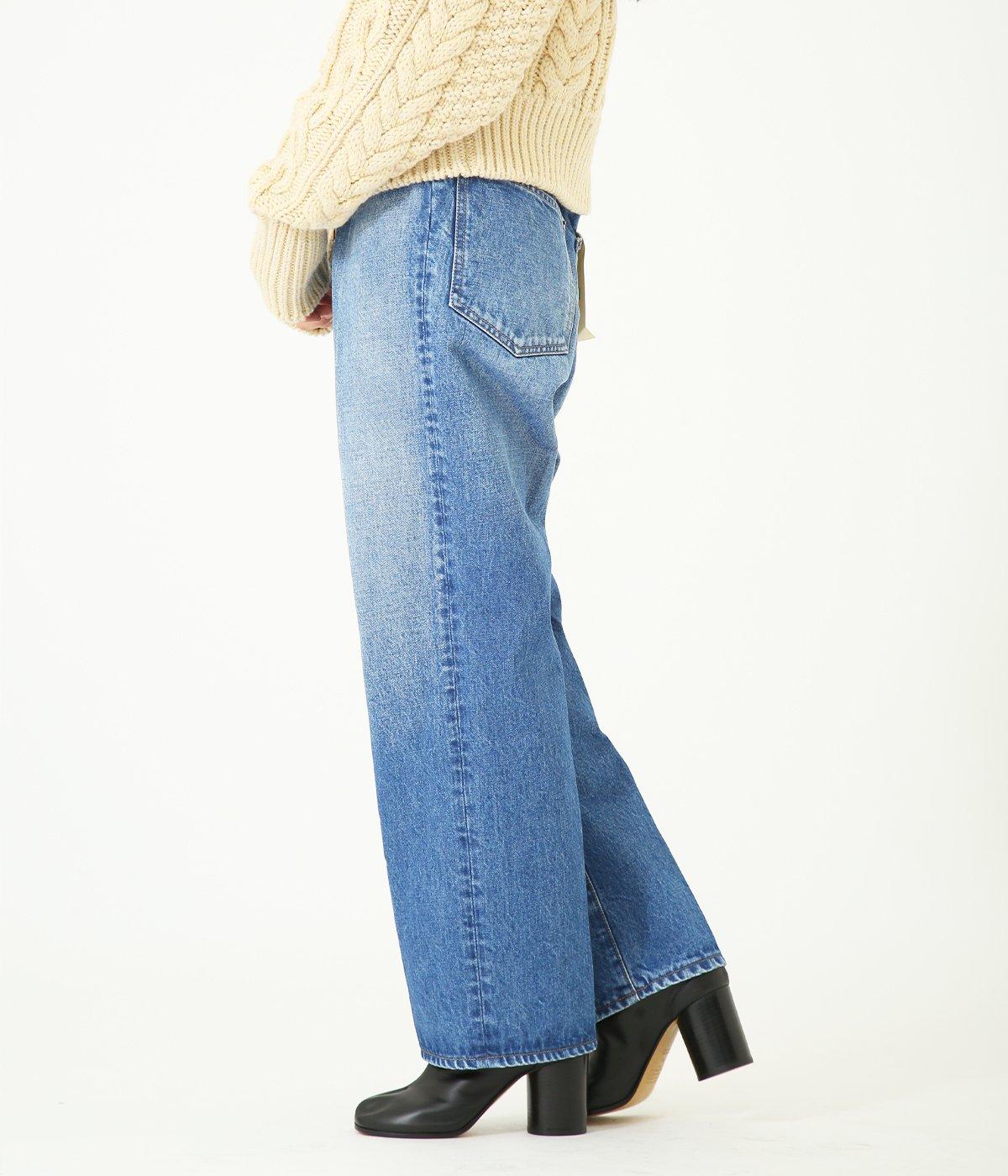 【レディース】Denim slacks