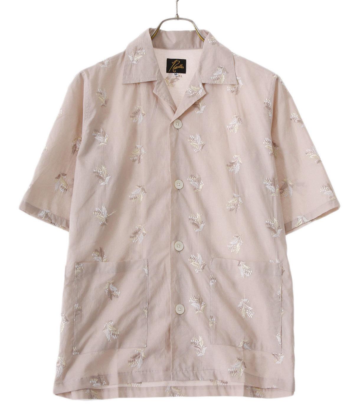 【レディース】Cabana Shirt - Plant Emb