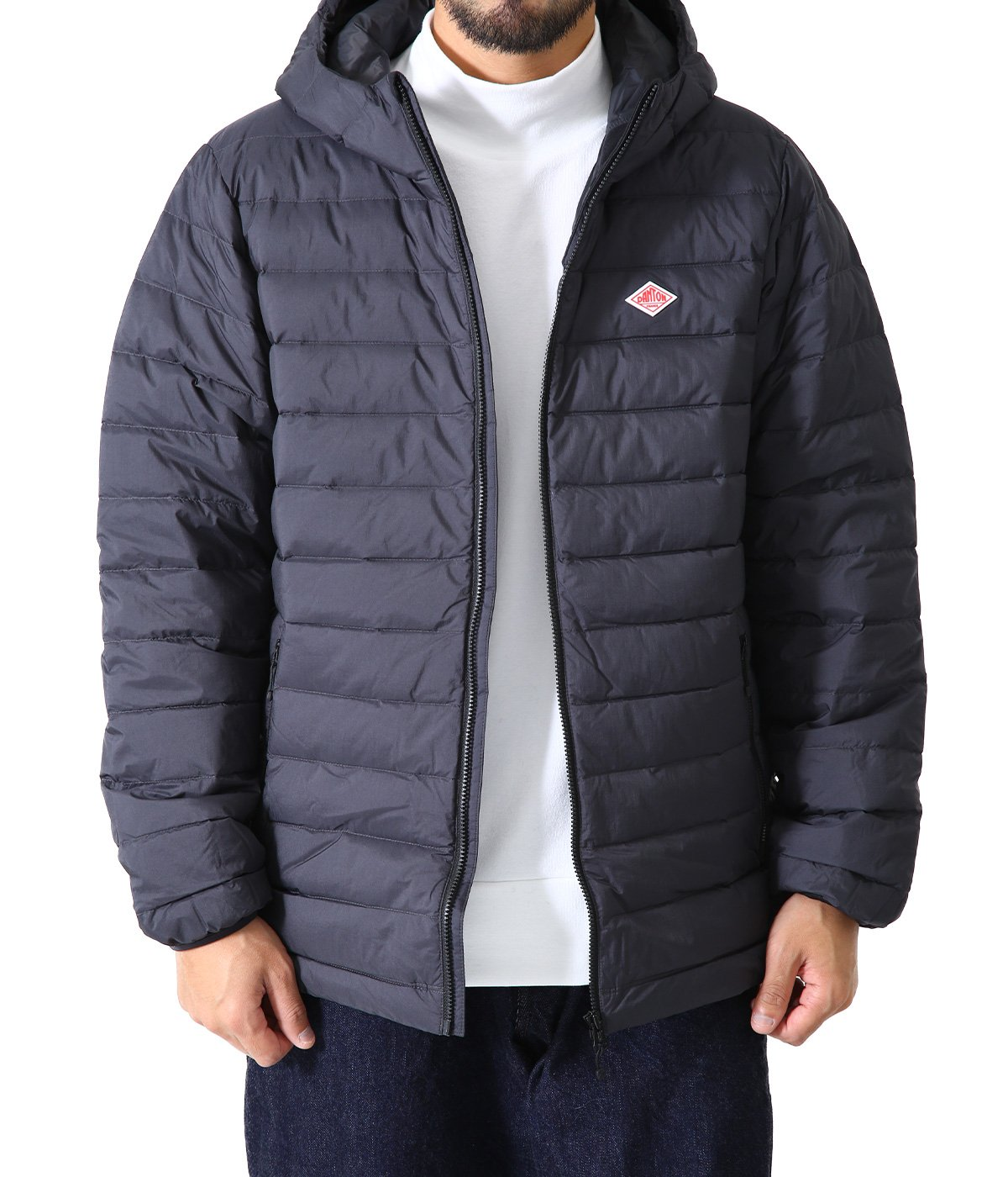 MIDDLE DOWN HOODED JACKET