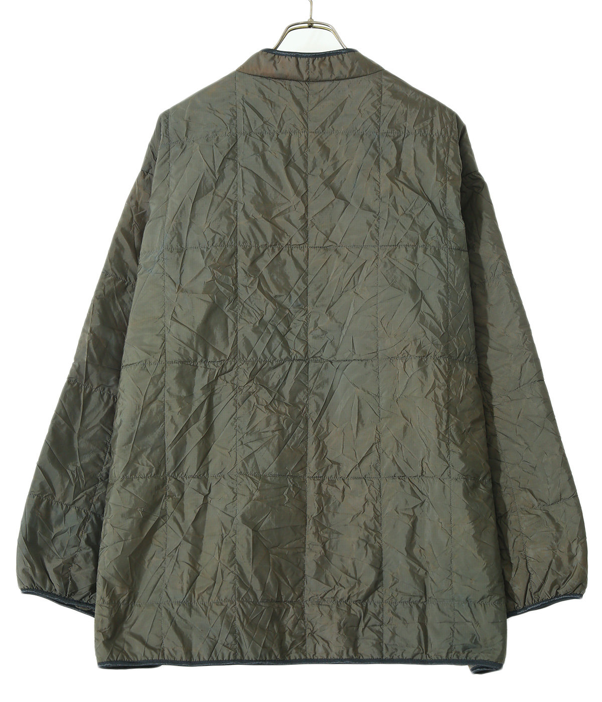 Piping Quilt Jacket - Nylon Ripstop / Uneven Dye