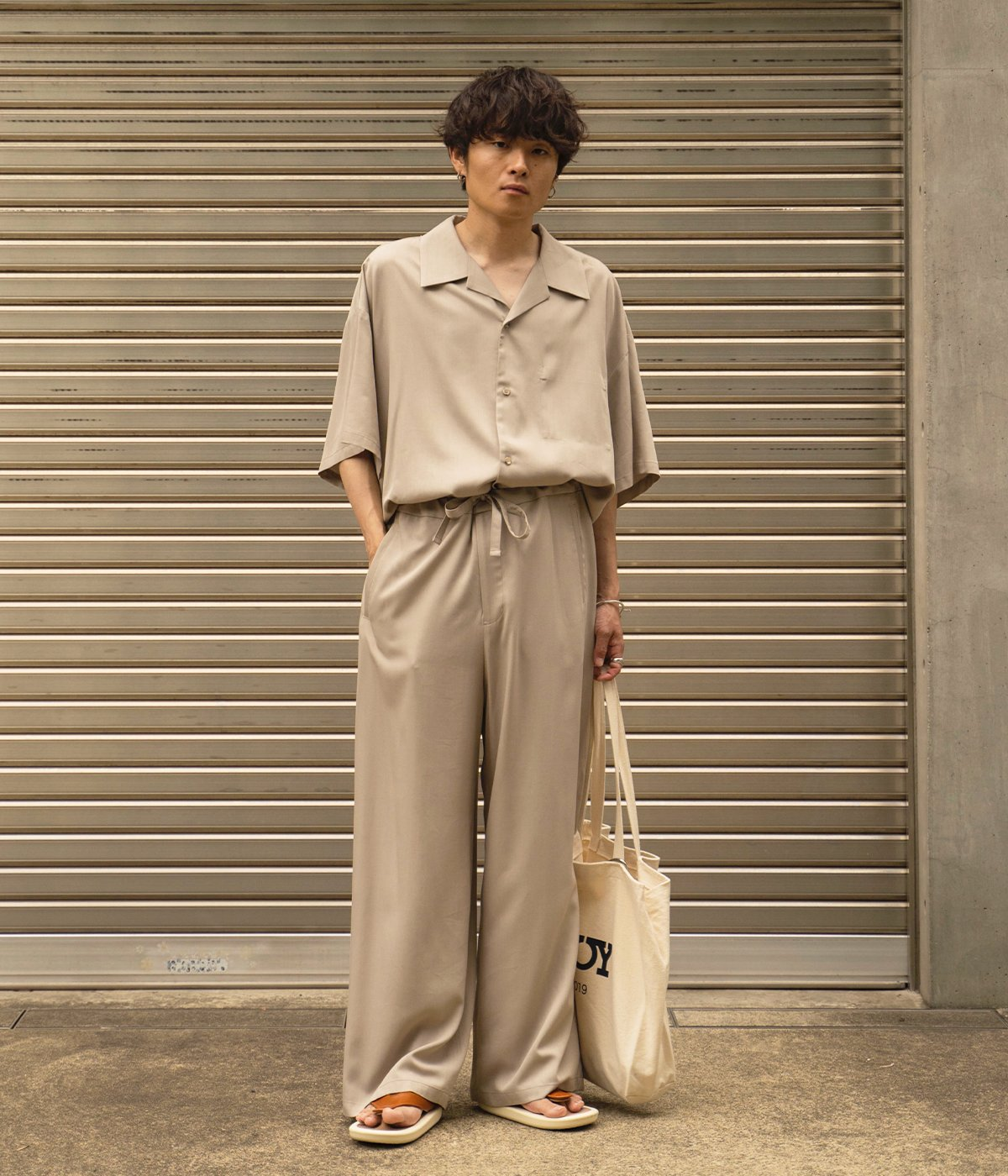 """【予約】JOJO×RYO TAKASHIMA×ARKnets 別注""""BEACH SANDAL"""""""