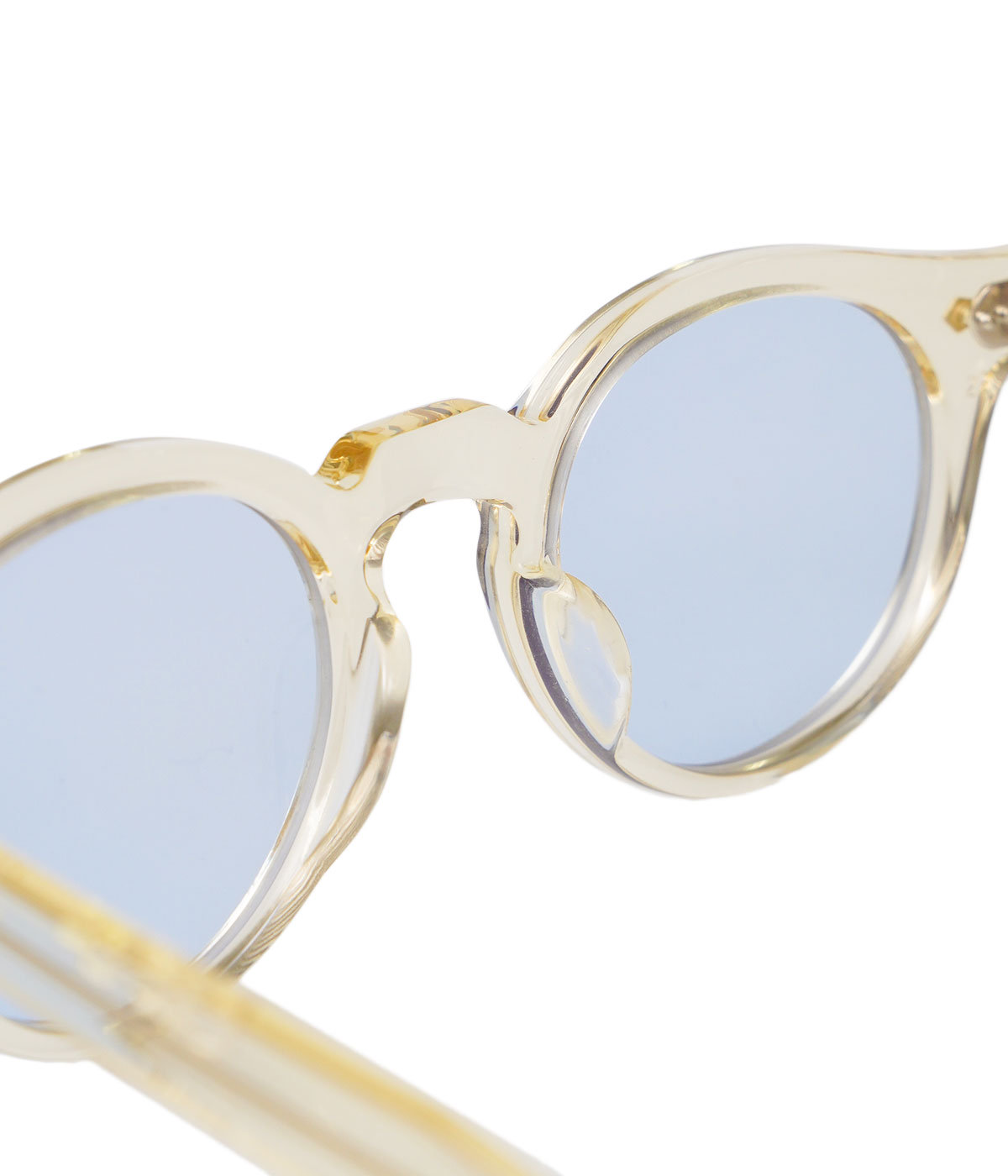 HAROLD 45-23 -CHAMPAGNE CLEAR / LIGHT BLUE -
